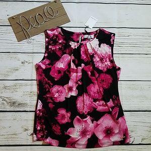 NWT Calvin Klein sleeveless blouse